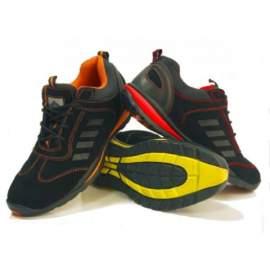 Munkavédelmi cipő Steelite Lusum (fekete/piros)