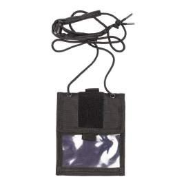 M-Tramp B31 pénz és irattartó (fekete)