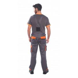 Texo Contrast melles nadrág (TX12)- szürke-narancs
